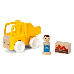 Image of BRIO BRIO® My Home Town – 30373 Dump Truck and Load 24 mdr. - 3 år (1137049)