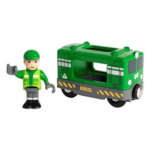 Image of BRIO BRIO® World 33894 – Cargo Engine and Driver 3 - 8 years (3061221107)