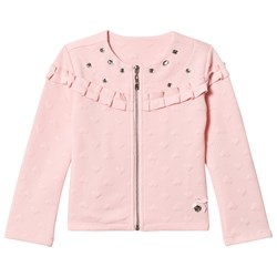 Le Chic Pink Chanel Relief Sweat Jacket