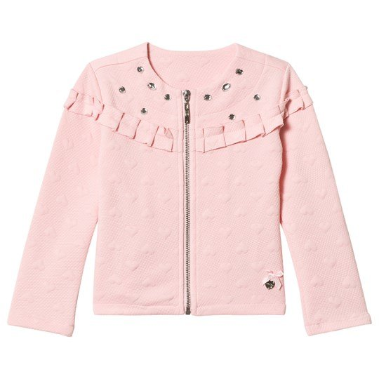 Le Chic Pink Chanel Relief Sweat Jacket Pink