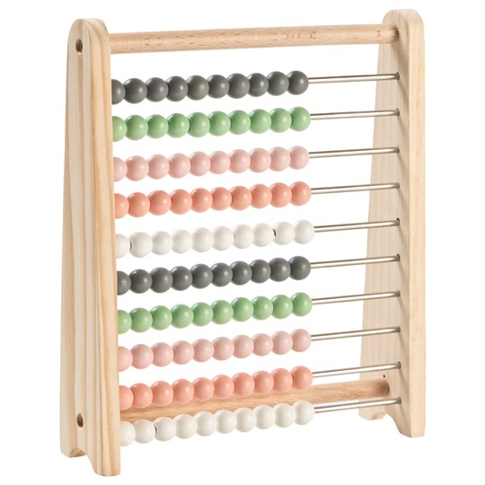 STOY Wood Abacus Beige