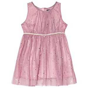 Image of Jocko avender Dress with Golden Dots 104 cm (3-4 år) (3065552287)