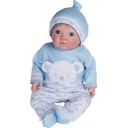 Tiny Treasure Doll Newborn Open Eye Docka