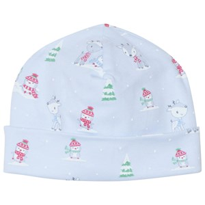 Image of Kissy Kissy Blue Snow Day Baby Hat SM (0-3/3-6 months) (3125242487)