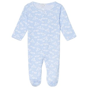 Image of Kissy Kissy Blue Two by Two Print Babygrow 0-3 months (3065537393)