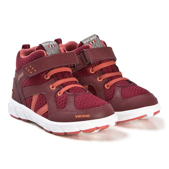 Viking Alvdal Mid R Gtx Shoes Wine/Coral Wine/Coral