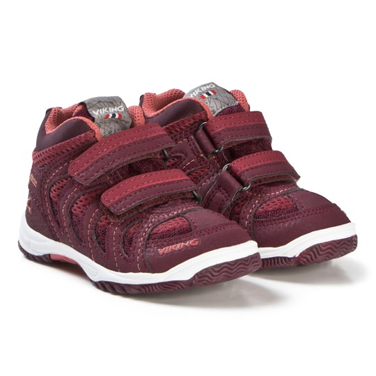 Viking Cascade Ii Mid Gtx Shoes Wine/Coral Wine/Coral