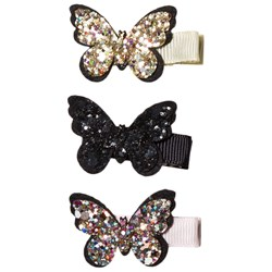 Petit by Sofie Schnoor Mixed Colours Butterfly Hair Clips