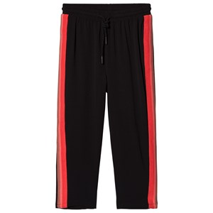 Image of Petit by Sofie Schnoor Black and Red Sweatpants 116 cm (3065554947)