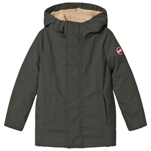 Image of colmar Khaki with Teddy Lined Longline Jacket 10 years (3065513455)