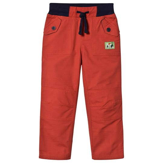 Frugi Red Cargo Pants Campfire_AW18