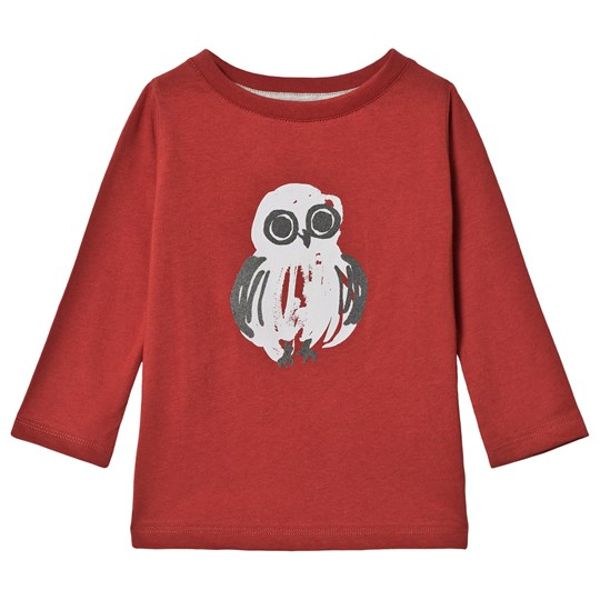 One We Like Owl One T-Shirt Dark Red Dark red