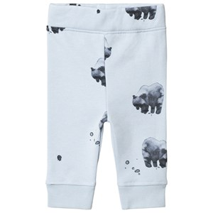 Image of One We Like Bear Relax Pants Baby Blue 12M (74/80) (3065582215)