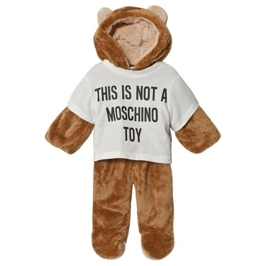 Moschino Kid-Teen Bear All in One Brun 83996