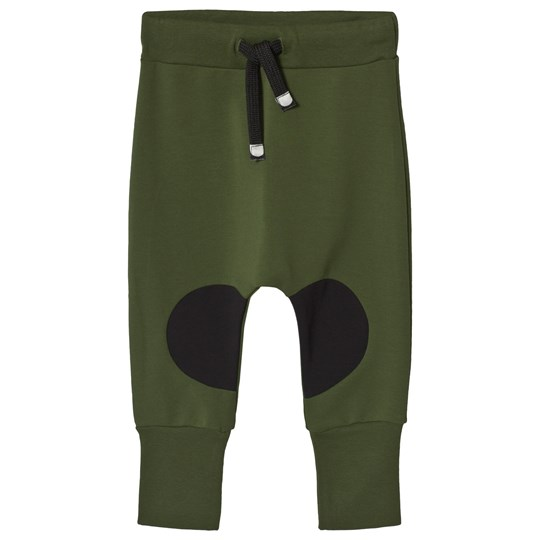 Papu Patch Baggy Pants Green Multicolor