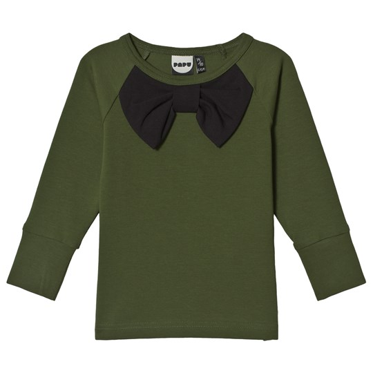 Papu Bow Fold T-Shirt Green Multicolor