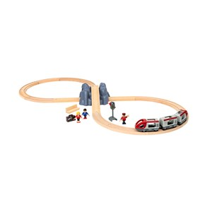 Image of BRIO BRIO® World 33773 – Railway Starter Set 3 - 8 years (1137089)