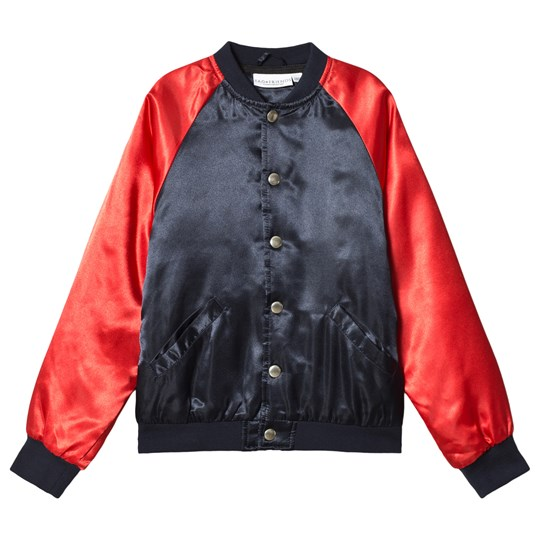 Tao&friends Seahorse Bomber Jacket Navy/Red Blue
