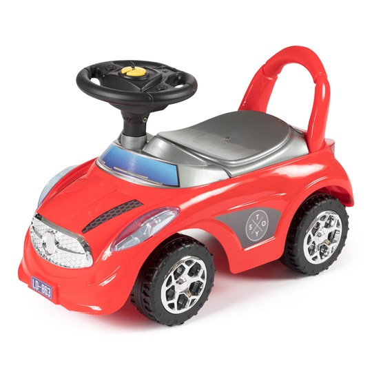STOY Speed Car walker with Music Red