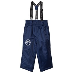 Minymo Snow Pants Solid Medieval Blue