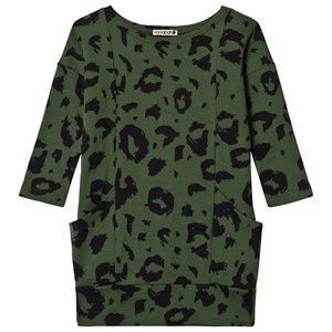 Image of Koolabah Lo Pocket Dress Green/Black 86 cm (1-1,5 år) (3065558691)