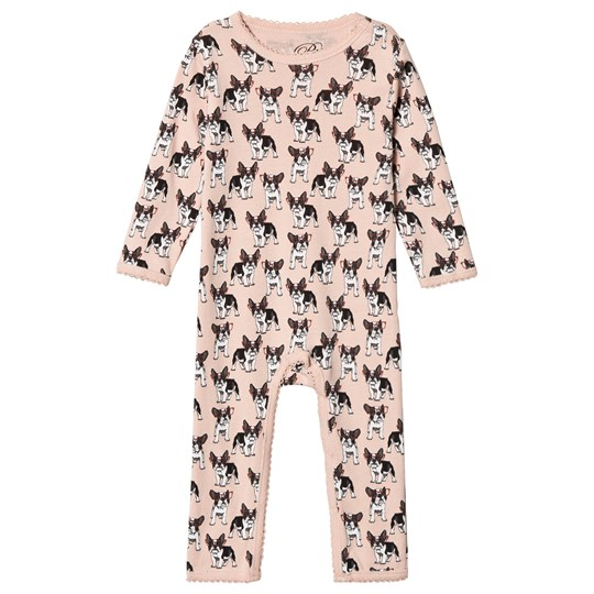 Petit by Sofie Schnoor French Bulldog One-piece Rosa French Bulldog