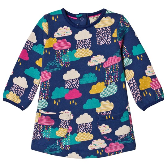 Frugi Cloud Dress Navy Bright Scandi Skies_AW18
