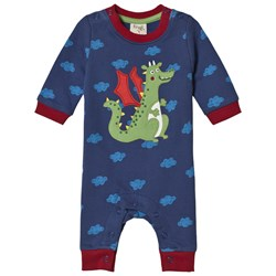 Frugi Dragon Cloud One-Piece Navy