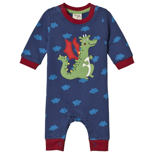 Frugi Dragon Cloud One-Piece Navy Westward Wind/Dragon_AW18