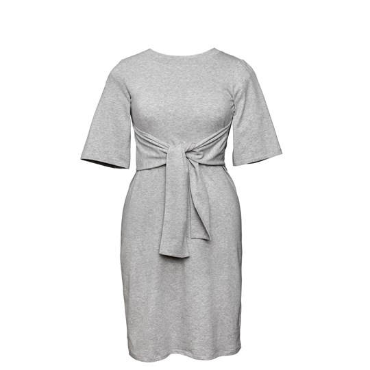 Boob Haley Dress Grey Melange Grey Melange