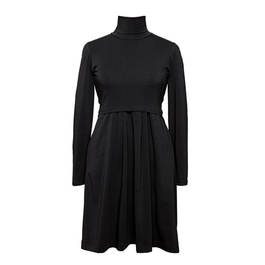 Boob Mimi Turtleneck Dress Black Black