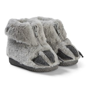 Image of Victoria Furry Slipper Boots with Claws Grey 19 EU (3065539929)