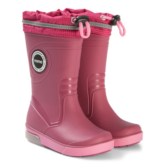 Reima Twinkle Rubber Boots Cranberry Pink Cranberry Pink