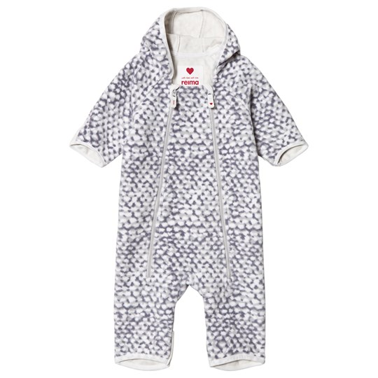 Reima Tilhi Windfleece Onesie Light Grey Light Grey