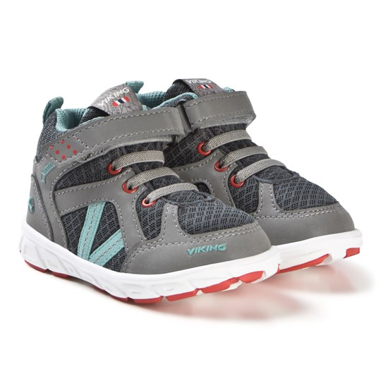 e48b495a Viking - Alvdal Mid R Gtx ShoesCharcoal/Bluegreen - Babyshop.com