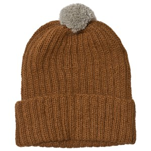 Image of Huttelihut Baby Knitted Hat Ribbed Oak 12-18 mdr (1178381)