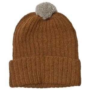 Image of Huttelihut Baby Knitted Hat Ribbed Oak 1-2 år (3065558177)