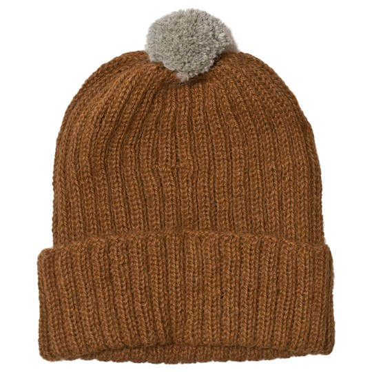 Huttelihut Baby Knitted Hat Ribbed Oak Oak