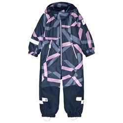 Reima Reimatec® Snowy Kiddo Snowsuit Heather Pink