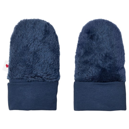 Reima Beantu Knitted Mittens Denim Blue Denim Blue