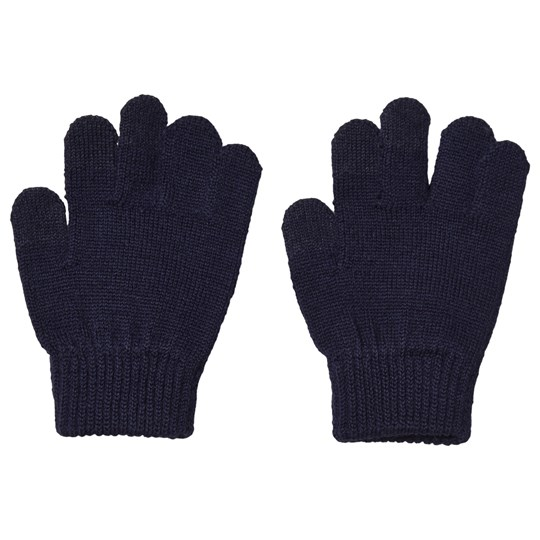 Reima Rimo Knitted Gloves Navy Navy