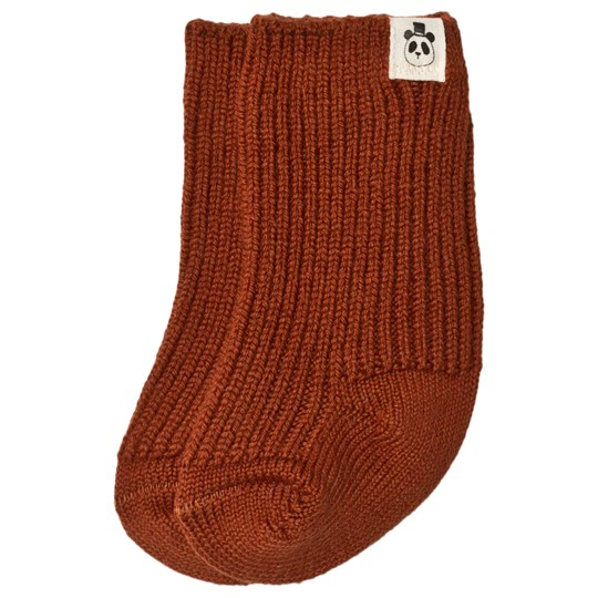 Mini Rodini Wool Socks Brown BROWN
