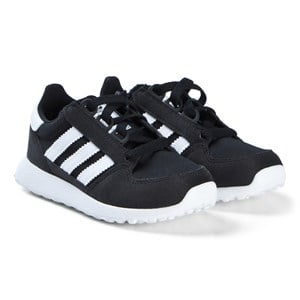 Image of adidas Originals Black Forest Grove Velcro Kids Trainers 28 (UK 10.5) (3065521131)
