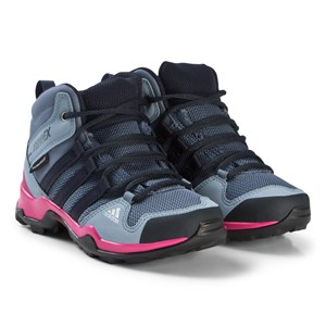 adidas Performance Purple and Pink Terrex Mid Hiking Boots