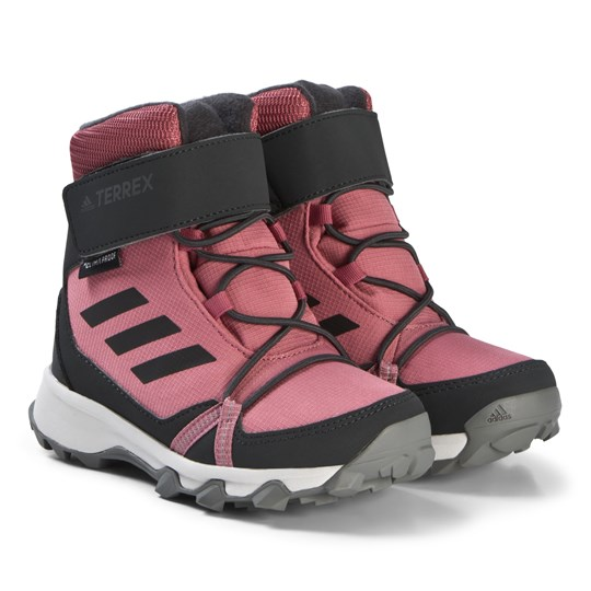 adidas Performance Pink Terrex Snow Boots TRACE MAROON F18/CARBON S18/REAL MAGENTA F18