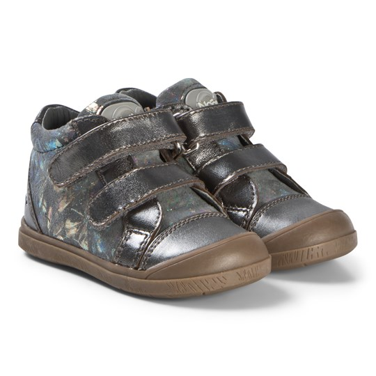 Noël Anthracite Olvy Velcro Shoes 118