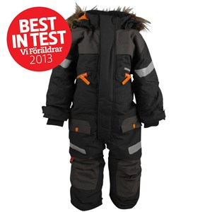 Didriksons Theron Kids Coverall Coal