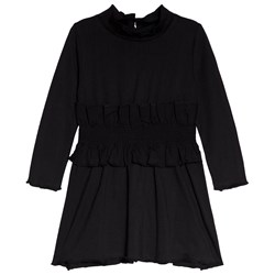 The BRAND Black Party Ruffle Dress