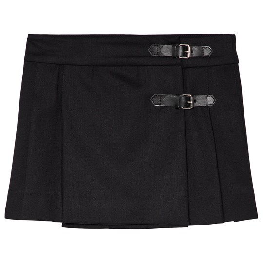 Bonpoint Black Wool Kilt 099C
