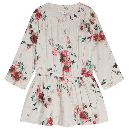 Bonpoint Cream Floral Cotton Dress 502A